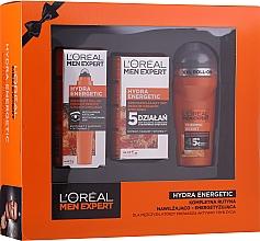 Düfte, Parfümerie und Kosmetik Gesichtspflegeset - L'Oreal Paris Men Expert (Deo Roll-on 50ml + Gesichtscreme 50ml + Augen-Roller 10ml)