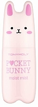 Düfte, Parfümerie und Kosmetik Feuchtigkeitsspendender Gesichtsnebel mit mineralreichem keltischem Wasser - Tony Moly Pocket Bunny Moist Mist