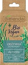 Düfte, Parfümerie und Kosmetik Regenerierende und glättende Nagelpflege mit Meeresalgen - Bielenda Bio Vegan Nail Care Sea Algae