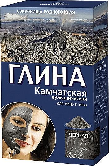 Schwarzer vulkanischer Ton für Gesicht und Körper aus Kamtschatka - Fito Kosmetik