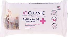 Düfte, Parfümerie und Kosmetik Antibakterielle Feuchttücher - Cleanic Antibacterial Travel Pack Refreshing Wet Wipes