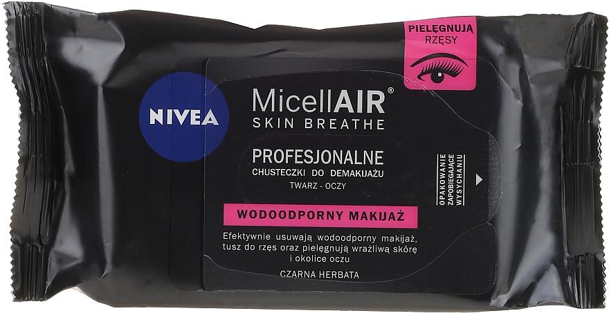 Make-up-Entfernungstücher mit Mizellen-Technologie 20 St. - Nivea MicellAIR Expert Micellar Makeup Remover Wipes