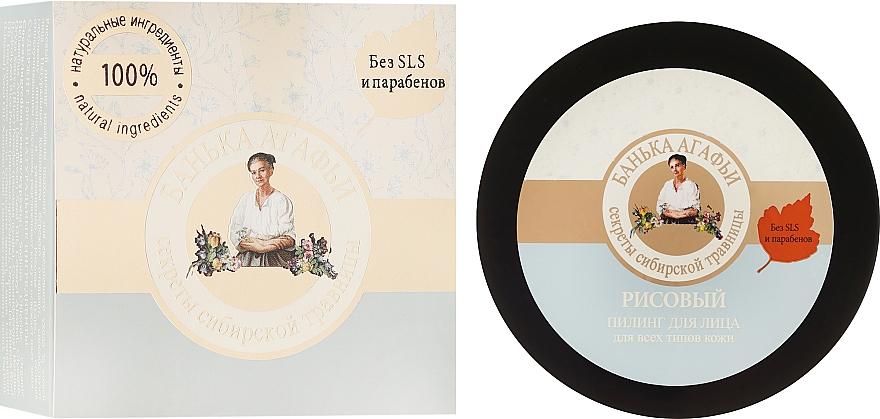 Reispeeling für das Gesicht - Rezepte der Oma Agafja