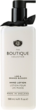 Düfte, Parfümerie und Kosmetik Handlotion mit Limette und Orangenblüte - Grace Cole Boutique Lime and Orange Blossom Hand Lotion