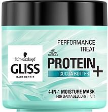 Düfte, Parfümerie und Kosmetik 4in1 Feuchtigkeitsspendende Maske für geschädigtes und trockenes Haar - Schwarzkopf Gliss Kur Performance Treat