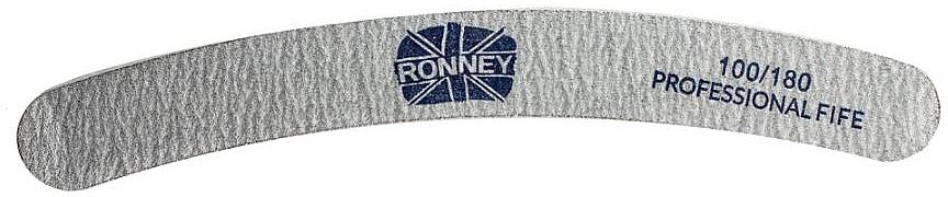 Nagelfeile 100/180 grau RN 00246 - Ronney Professional