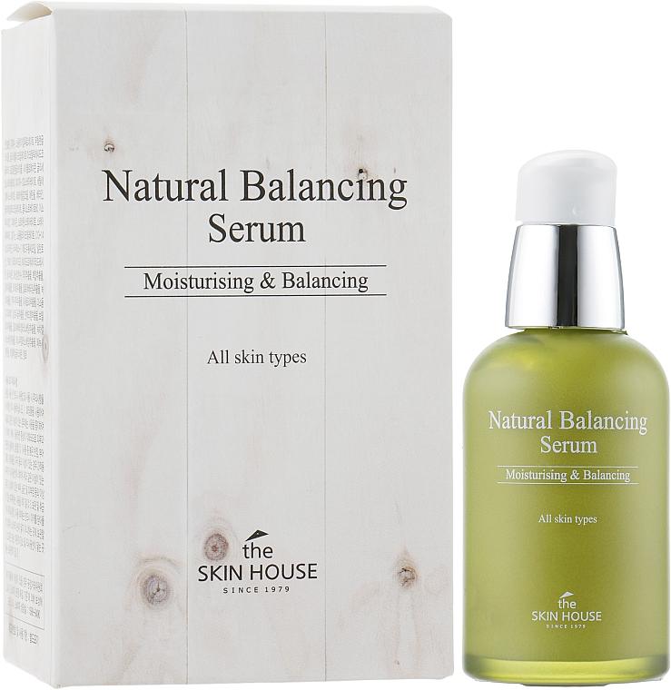 Feuchtigkeitsspendendes und ausgleichendes Gesichtsserum - The Skin House Natural Balancing Serum — Bild N1