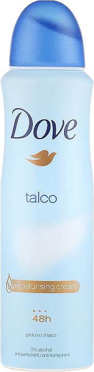 Deospray Antitranspirant - Dove Talco Deodorant Spray
