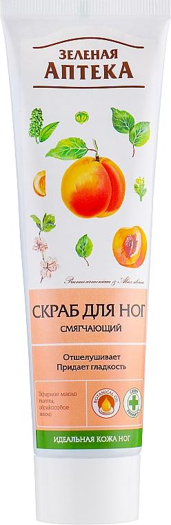 Fußpeeling mit Aprikosenöl - Green Pharmacy