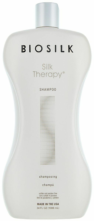 Pflegeshampoo mit Seidenproteine - BioSilk Silk Therapy Shampoo — Bild N1