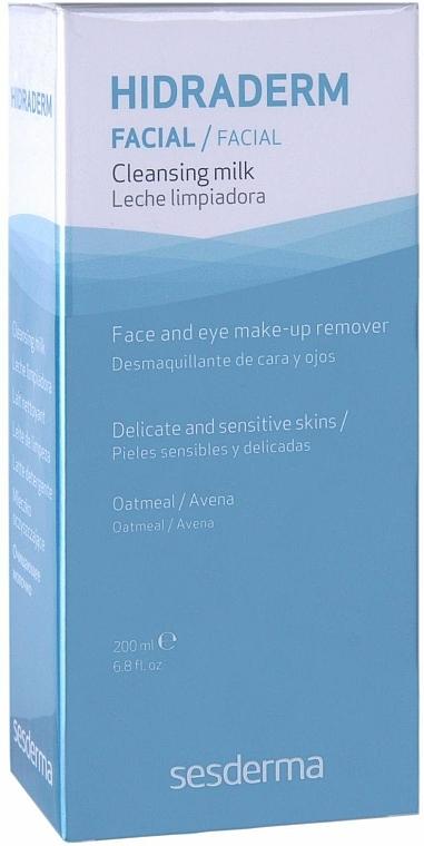 Gesichtsreinigungsmilch zum Abschminken - SesDerma Laboratories Hidraderm Cleansing Milk — Bild N2
