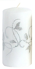 Düfte, Parfümerie und Kosmetik Dekorative Kerze weiß 7x10 cm - Artman Amelia