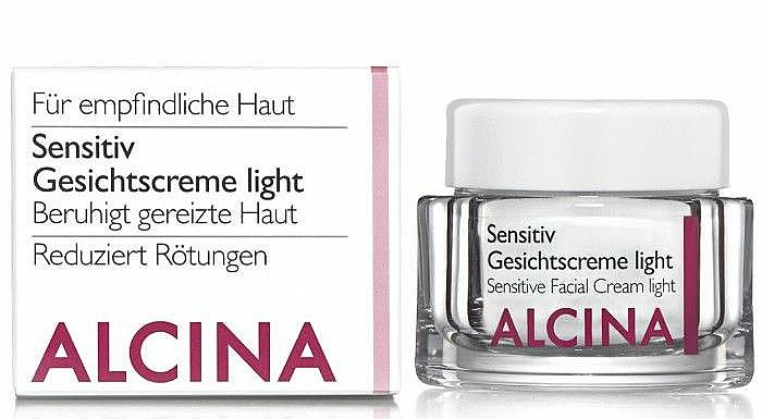 Gesichtscreme für empfindliche Haut - Alcina S Sensitive Facial Cream Light