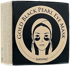 Düfte, Parfümerie und Kosmetik Hydrogel-Augenpatches mit schwarzem Perlenpulver - Shangpree Gold Hydrogel Eye Mask