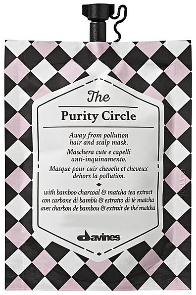 Haarmaske mit Bambuskohle - Davines The Circle Chronicles The Purity Circle