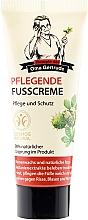 Düfte, Parfümerie und Kosmetik Pflegende Fußcreme - Rezepte der Oma Gertrude