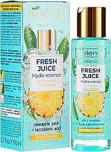 Düfte, Parfümerie und Kosmetik Aufhellende Hydro-Gesichtsessenz mit Ananas - Bielenda Fresh Juice Brightening Hydro Essence Pineapple