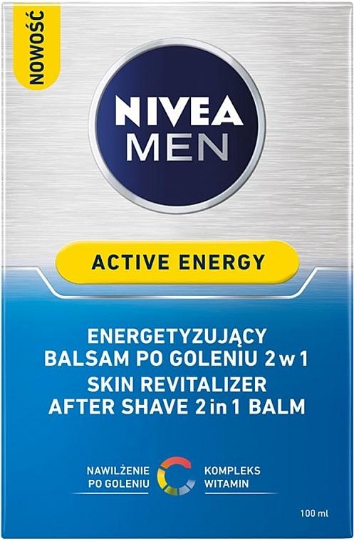 After Shave Balsam 2in1 - Nivea For Men Active Energy Skin Revitalizer After Shave Balm — Bild N3