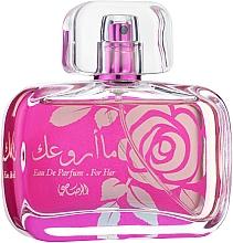 Düfte, Parfümerie und Kosmetik Rasasi Maa Arwaak - Eau de Parfum