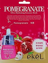 Düfte, Parfümerie und Kosmetik Feuchtigkeitsspendende Tuchmaske mit Pomeganate - Ekel Pomegranate Ultra Hydrating Essence Mask