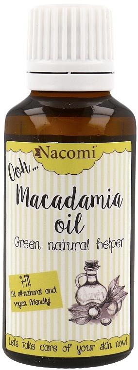 Macadamiaöl für das Gesicht - Nacomi