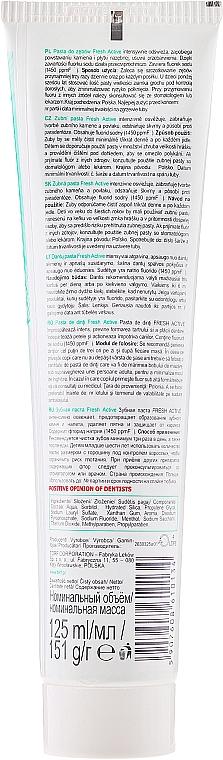 Zahnpasta Fresh Active - Tolpa Dentica Fresh Active — Bild N2