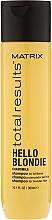 Düfte, Parfümerie und Kosmetik Kamillen- Shampoo für blondierte Haare - Matrix Total Results Hello Blondie Shampoo