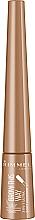 Düfte, Parfümerie und Kosmetik Augenbrauenpuder mit Applikator - Rimmel Brow This Way 3-in-1 Soft Powder