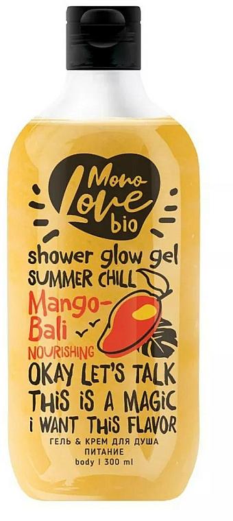 Pflegendes Creme-Duschgel mit Mangoöl und Kokosnuss - MonoLove Bio Mango-Bali Nourishing