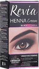 Düfte, Parfümerie und Kosmetik Augenbrauen- und Wimpernfarbe - Revia Eyebrows Henna