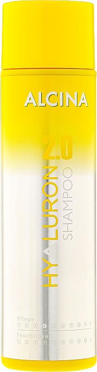 Feuchtigkeitsspendendes Shampoo mit Hyaluronsäure - Alcina Hyaluron Shampoo