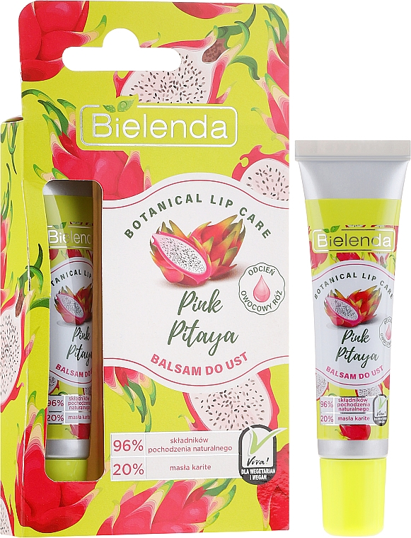 Lippenbalsam Pink Pitaya - Bielenda Balsam Do Ust