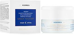 Düfte, Parfümerie und Kosmetik Regenerierende Nachtcreme mit griechischem Joghurt - Korres Greek Yogurt Cream