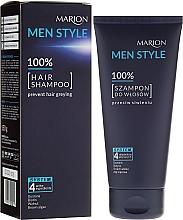 Düfte, Parfümerie und Kosmetik Shampoo für Männer, Tiefenreinigung und Erfrischung - Marion Men Style Shampoo Against Greying