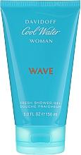 Düfte, Parfümerie und Kosmetik Davidoff Cool Water Wave Woman - Duschgel