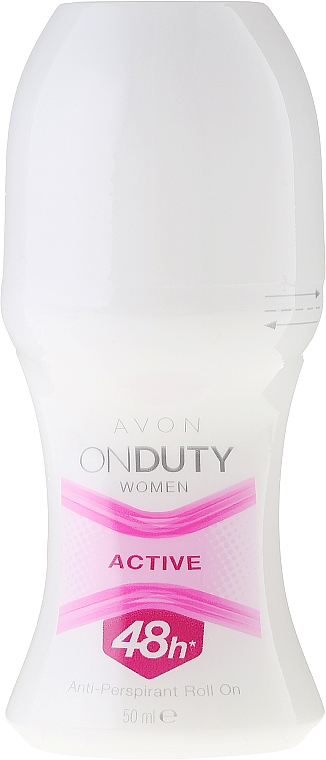 Deo Roll-on Antitranspirant - Avon On Duty Woman Active 48h Anti-Perspirant Roll-On