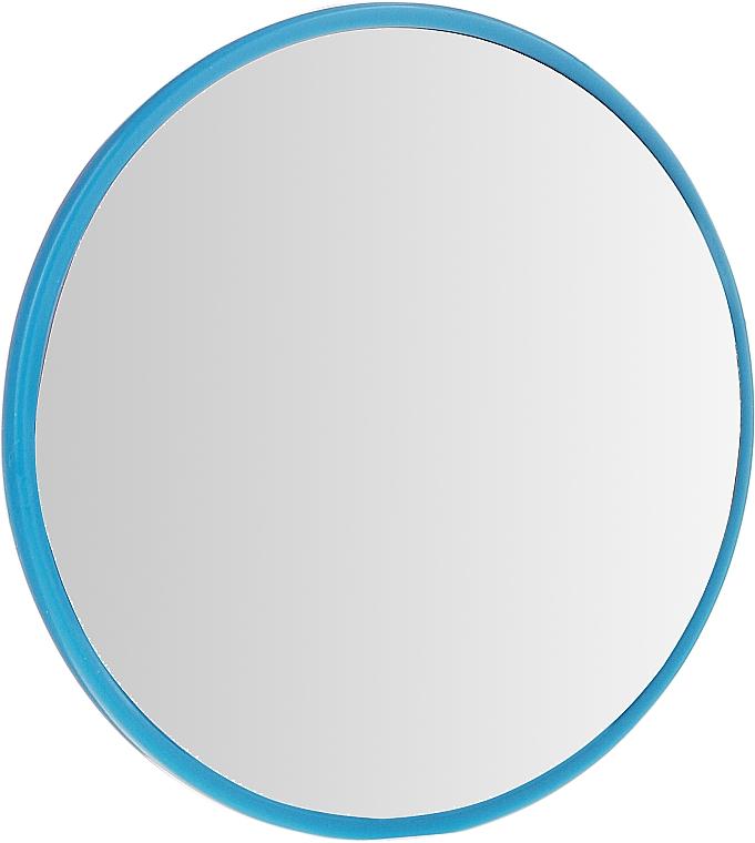 Kosmetischer Taschenspiegel 9511 rund 7 cm blau - Donegal — Bild N1