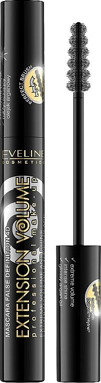Mascara für voluminöse Wimpern - Eveline Cosmetics Extension Volume Mascara — Bild N1