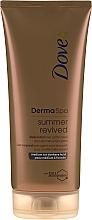 Düfte, Parfümerie und Kosmetik Selbstbräunungslotion für den Körper Medium zu dunkel - Dove Derma Spa Summer Revived Medium To Dark Skin Body Lotion