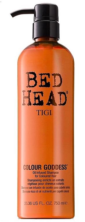Oil Infused farbpflegendes Shampoo für coloriertes Haar - Tigi Bed Head Colour Goddess Oil Infused Shampoo — Bild N5