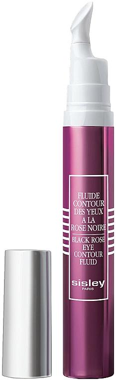 Erfrischendes Fluid für die Augenkontur mit Extrakt aus schwarzer Rose und Vitaminen - Sisley Black Rose Eye Contour Fluid — Bild N1
