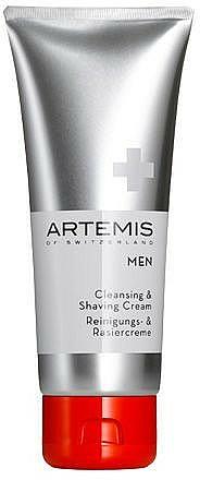 Reinigungs- und Rasiercreme - Artemis of Switzerland Men Cleansing & Shaving Cream