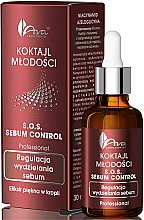 Düfte, Parfümerie und Kosmetik Anti-Akne Gesichtsserum mit Aloe Vera Extrakt und Teebaumöl für fettige Haut - Ava Laboratorium S.O.S Sebum Control