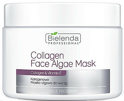 Alginat-Gesichtsmaske mit Kollagen und Vitamin E - Bielenda Professional Collagen Face Algae Mask
