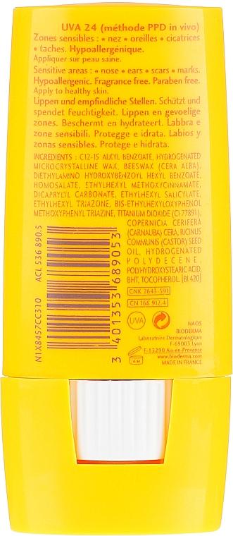 Sonnenschutzstick für empfindliche Zonen SPF 50+ - Bioderma Photoderm Max SPF50+ Large Stick — Bild N2