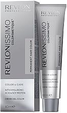 Creme-Gel-Haarfarbe mit Hyaluronsäure und Sojaprotein - Revlon Professional Revlonissimo Color & Care Technology XL150 — Bild N1