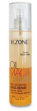 Düfte, Parfümerie und Kosmetik Haaröl für mehr Glanz mit Macadamia - H.Zone Macadamia-Gloss Repair