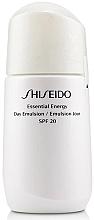 Düfte, Parfümerie und Kosmetik Feuchtigkeitsspendende Anti-Falten Tagesemulsion SPF 20 - Shiseido Essential Energy Day Emulsion SPF 20