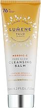 Düfte, Parfümerie und Kosmetik Lumene Valo Cleansing Balm - Sanfter Gesichtsreinigungsbalsam mit arktischem Moltebeersamenöl und Vitamin C für strahlende Haut