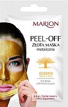 Düfte, Parfümerie und Kosmetik Gesichtsmaske mit Hyaluronsäure und Arganöl - Marion Golden Skin Care Peel-Off Mask
